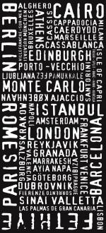 Modernista style - with letterpress font