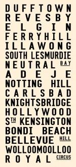 Perth tram scroll