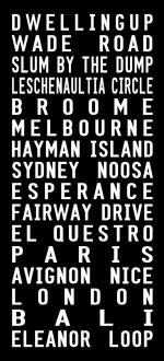 New Zealand tram scroll