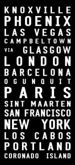 London bus print
