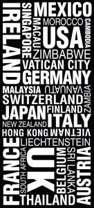 Modern mixed font