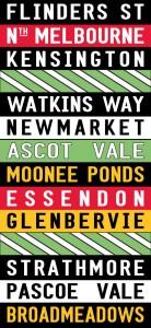 personalised tram scroll Sydney