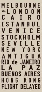 personalised tram scroll