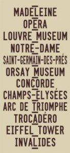 Paris - Centred - beige