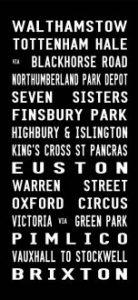 London Victoria Line-Full line