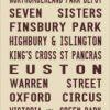 London Victoria Line- FL- beige