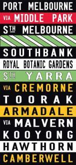 Port Melbourne - Coloured