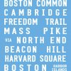 Boston City Bus Tram Destination Sign Wall Art