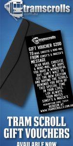 Tramscrolls Gift Voucher
