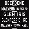 Glen Ferrie Station via Hawthorn Tram Route Sign Art