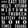 Central Park New York City Bus Scroll