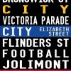 Fitzroy to Richmond Bus and Tram Banner