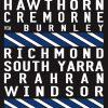 St Kilda Melbourne Vintage Tram Sign Reproduction Canvas Art Print