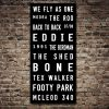 Adelaide Crows Tram Scroll AFL Footy Canvas Art