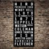 Essendon Bombers Tram Scroll AFL Sports Footy Artwork Print