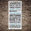 Manchester City Quote Canvas Art Print