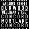 The Enfield Tram Scroll