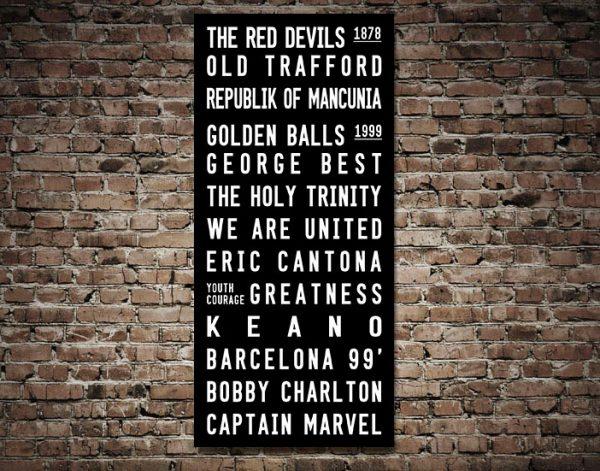 Manchester United FC Artwork