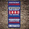 Western Bulldogs Canvas Artwork Online