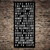 Buy Tram Banner Wall Art for Newcastle United FC